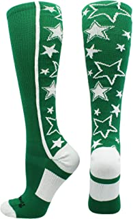 Crazy Socks with Stars Over The Calf Socks (Multiple Colors)
