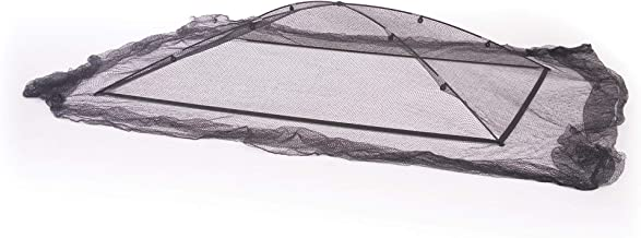 Atlantic PGPSM Pond and Garden Protector Dome Net, 7x9x2 Feet, 1/2 Inch Mesh - Keeps Out Debris, Pests - Includes Fiberglass Poles, Stakes and More