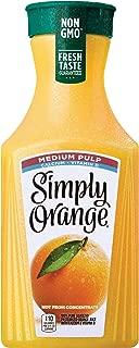 Simply Orange Juice, 52 fl oz, 100% Juice, Medium Pulp w/ Calcium & Vitamin D