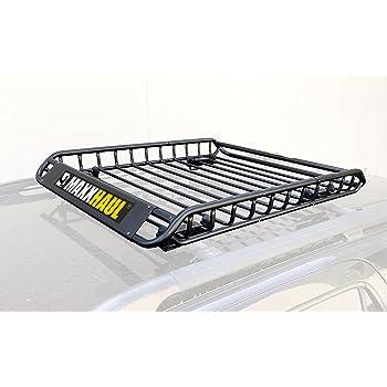 "MAXXHAUL 46"" x 36"" x 4-1/2"" - 150 lb. Capacity - NOT Assembled 70115 Steel Roof Rack-150 lb"