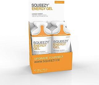 Squeezy Energy Gel, Sabor Limón - Paquete de 12 x 33 gr - Total: