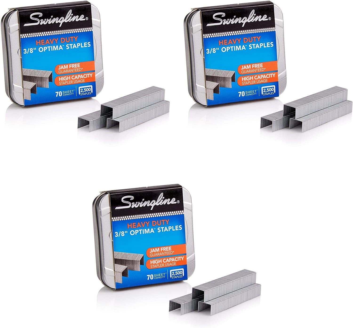 Swingline Staples Optima Limited Special Price Heavy Duty Max 72% OFF 3 8
