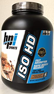 BPI Sports ISO HD 100% Pure Isolate Protein 5 Pounds Peanut Butter Candy Bar