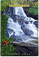 product image for Great Smoky Mountains National Park, Tennessee - Laurel Falls 37020 (6x9 Aluminum Wall Sign, Wall Decor Ready to Hang)