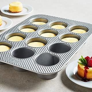 Sur La Table Platinum Professional Mini Cheesecake Pan, 12 Cavity