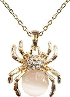 Best gold spider pendant Reviews