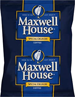 Maxwell House Special Delivery Medium Roast Ground Coffee (1.2 oz Bags, Pack of 42)