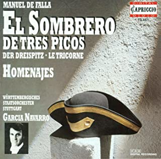Falla, M.: 3-Cornered Hat (The) / Homenajes / Danza
