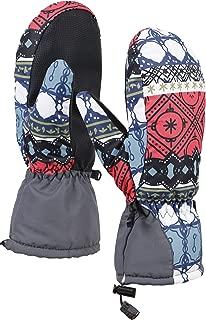 Women's Winter Snow Thinsulate Lined Waterproof Outdoor Ski Mittens