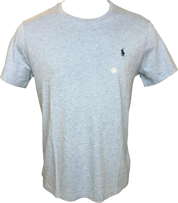 POLO RALPH LAUREN Men Crewneck Jersey Custom Fit Superlatite Cotton T-Shirt Super beauty product restock quality top!