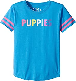 Chaser Kids - Vintage Jersey Puppies Tee (Little Kids/Big Kids)