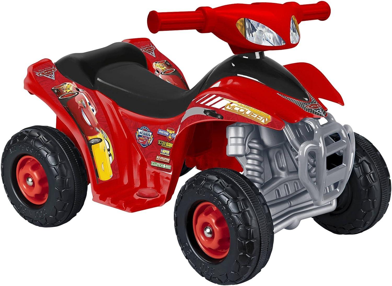 FEBER- Quad Disney Cars, 3.6 V (Famosa 800011149)