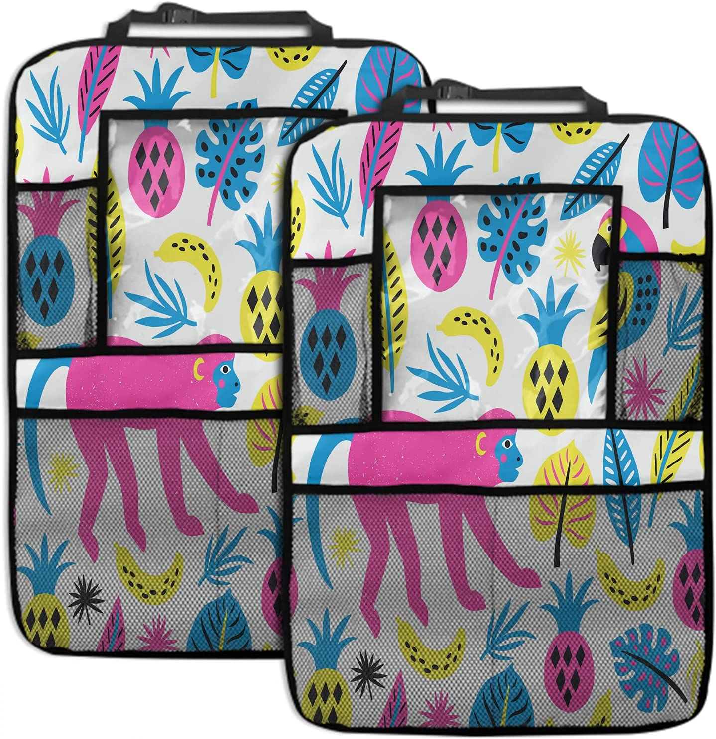 Beabes Monkey Car Back Seat Organizers Bird Outlet SALE Pine Ranking TOP18 P Banana Africa
