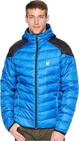 Geared Hoody Synthetic Down Jacket
