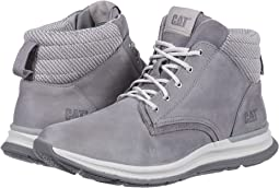 Light Grey Leather/Suede/Knit
