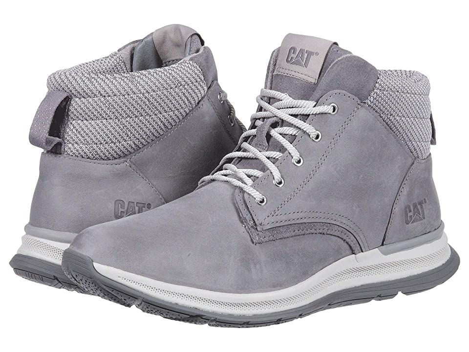 Caterpillar Casual Starstruck (Light Grey Leather/Suede/Knit) Women