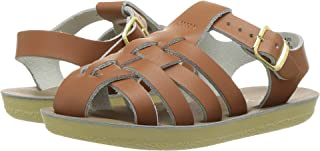 Salt Water Sandals Kids' Sun-san Sailor Flat Sandal