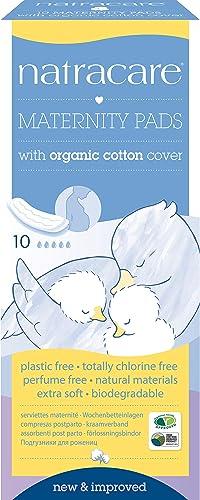 Natracare serviettes hygieniques jetables post-partum - Boîte de 10 serviettes hygiéniques