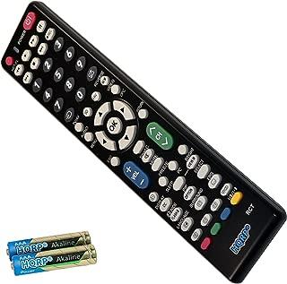 HQRP Remote Control for Sharp LC-52SB55U LC-52SB57UN LC-52SE94U LC-52XS1U-S LC-55LE620UT LC-57D90U LCD LED HD TV Smart 1080p 3D Ultra 4K AQUOS + HQRP Coaster
