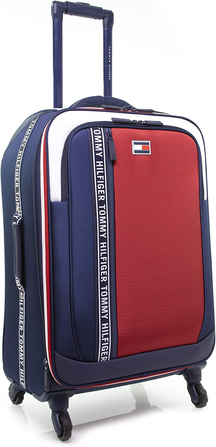 Tommy Hilfiger Sport Evolution Expandable Spinner Max 62% OFF Lugga Great interest Softside