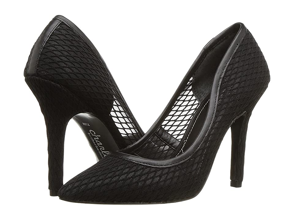 Charles by Charles David Maxx (Black Fishnet) High Heels