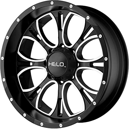 "Helo HE879 Wheel with Gloss Black Milled (16x8""/6x5.5"")"