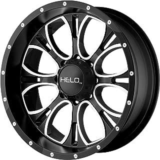 Helo HE879 Wheel with Gloss Black Milled (17x9