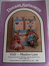 DreamSpinners Pattern 143 Meadow Lane Stuffed Bunny with Clothes, Pocket Bunny and Quilt