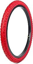 red bmx tyres