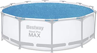 Bestway 8321530 Cobertor Solar Para Piscinas Estructura Metálica Ø 366 cm, 100X45X115 CM