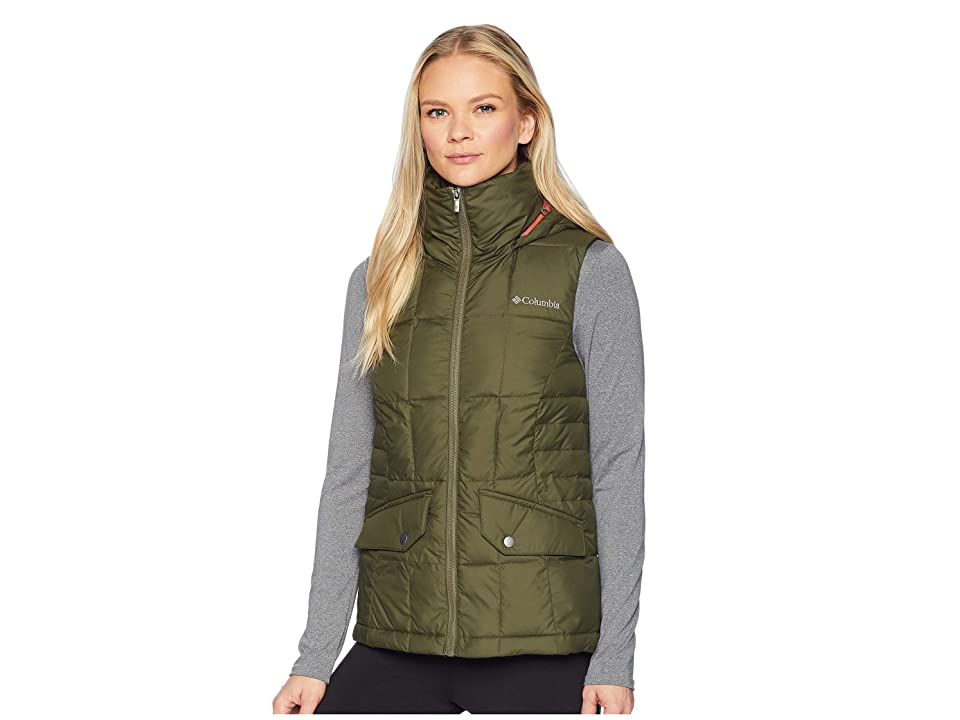 Columbia Lone Creek Hooded Vest (Nori) Women