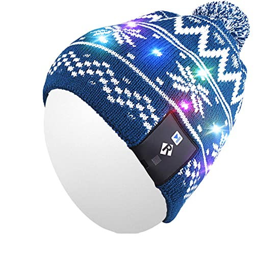 00e746ed8ae Qshell Light Up Beanie Hat