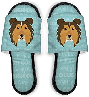 Adorable Dog Breed Specific Slippers