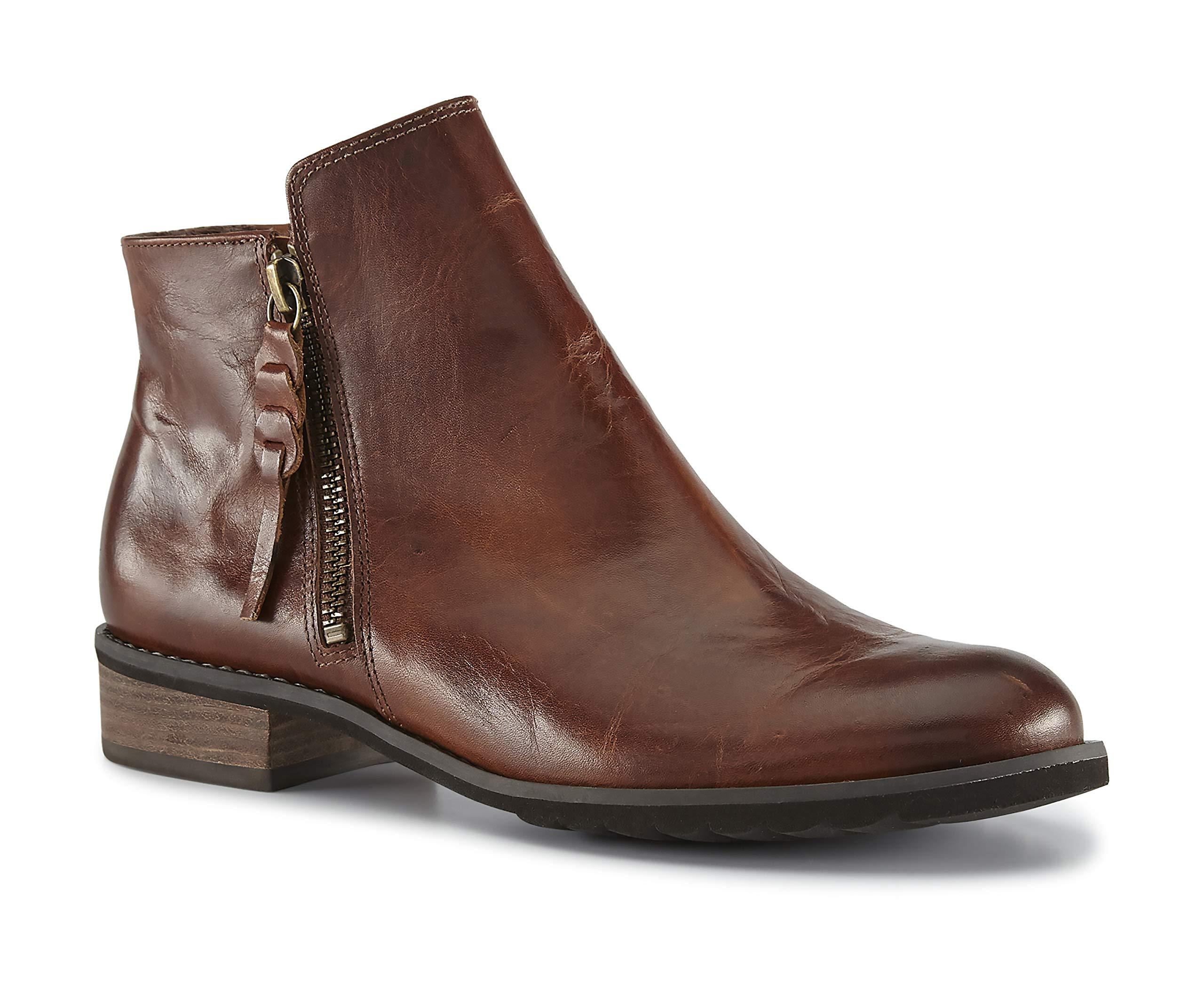 Walking Cradles Womens Chestnut Leather