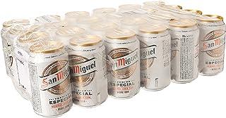 comprar comparacion San Miguel Cerveza - Paquete de 24 x 330 ml - Total: 7920 ml