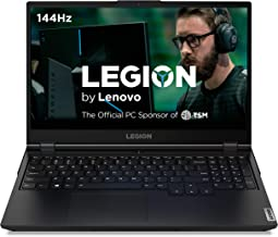 "Lenovo Legion 5 Gaming Laptop, 15.6"" FHD (1920x1080) IPS Screen, AMD Ryzen 7 4800H Processor, 16GB DDR4, 512GB SSD, NVIDIA GTX 1660Ti, Windows 10, 82B1000AUS, Phantom Black"
