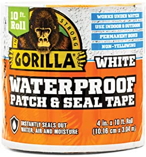 "Best Gorilla Waterproof Patch & Seal Tape, 4"" x 10"