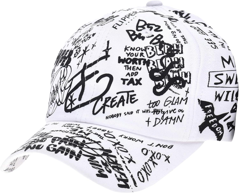 WITHMOONS Baseball Cap Graffiti Art Tattoo Graphic Hat AL1706