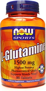 NOW Sports NOW Sports L-Glutamine 1500mg 90 tabs