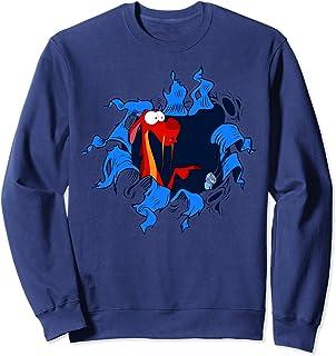 Disney Mulan Mushu Cri-Kee Takes The Blame Ripped Sweatshirt