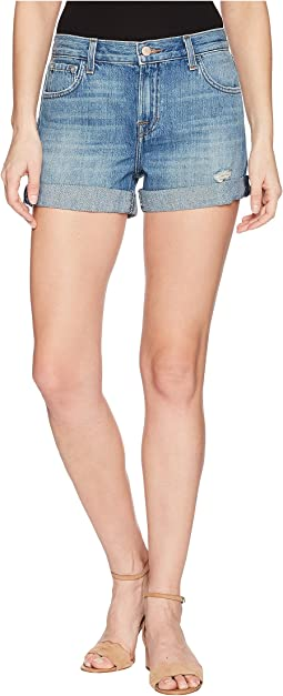 Johnny Mid-Rise Shorts in Broken Heart