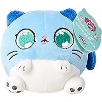 Kitten Catfe Meowble Super Soft Scented Plush, Blue Gray Cat
