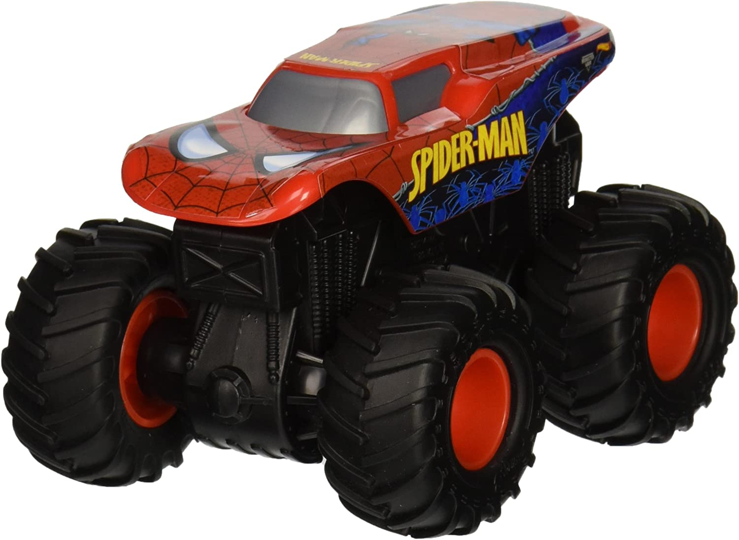 Hot Wheels Monster Jam Rev Tredz SpiderMan Vehicle by Hot Wheels