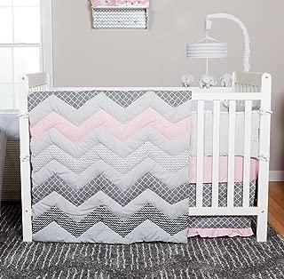 Best pink chevron crib bedding Reviews