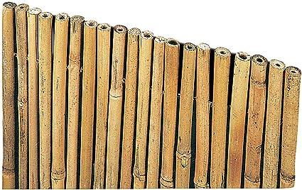 Arella Canniccio In Bamboo Con Canne Spesse 14 25mm Copertura Da Giardino Canna Passante Frangivista Ombra Stuoia Cannucciata Frangisole Recinzione Ombra In Bambù Esterno Dimensioni 150x300 Cm Amazon It Casa E Cucina