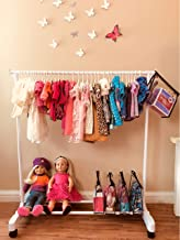AMERICAN GIRL COLLECTION Six Doll Clothing HANGERS Organizing Accessory
