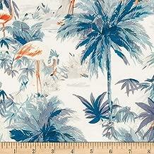 Robert Kaufman Flamingo Paradise Palm Fabric Fabric by the Yard