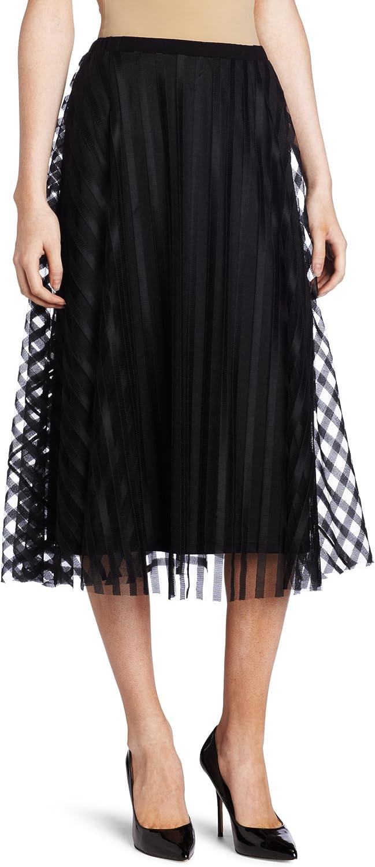 Only Hearts Women's Satin Stripe Skirt