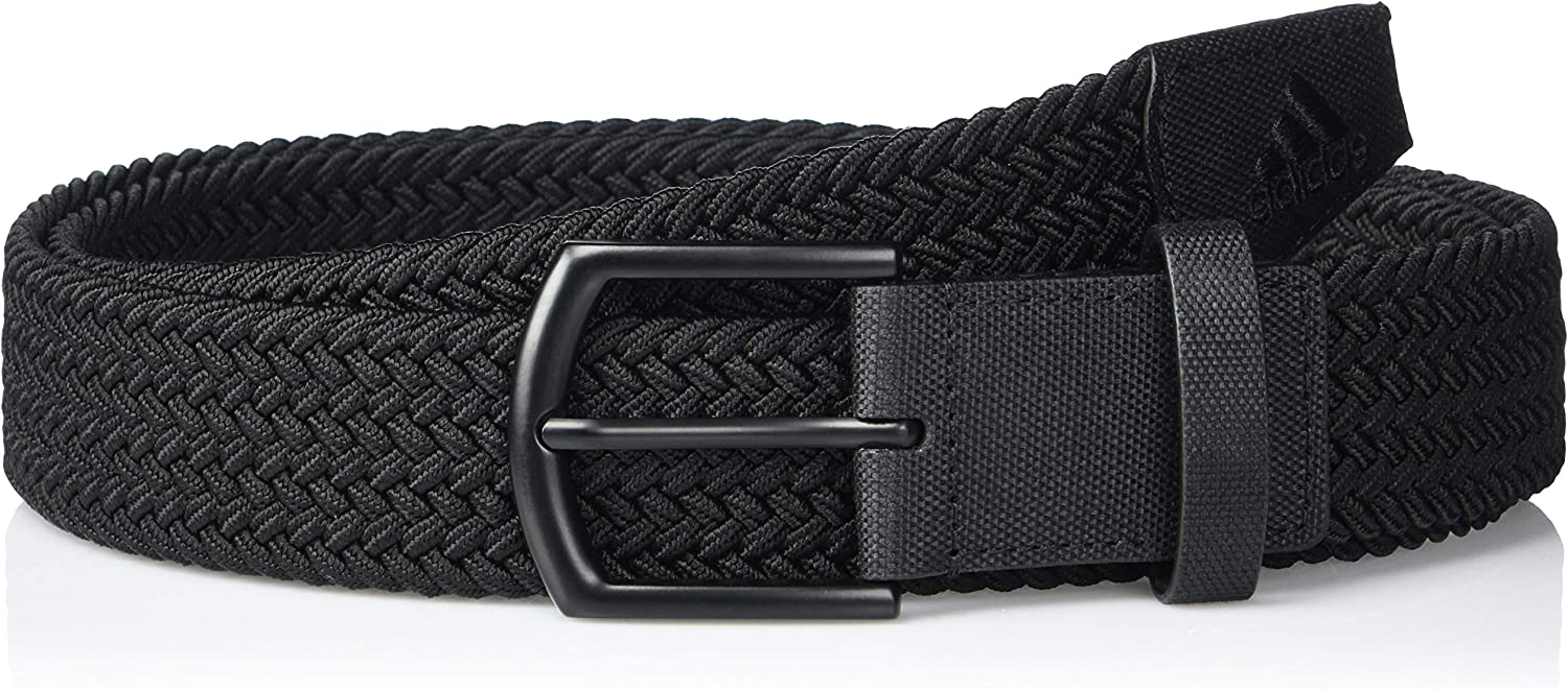 adidas Men's Golf Belt Stretch Directly managed Wholesale store Braided