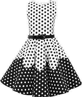 5e283aa63f4e0 BlackButterfly Enfants Robe Années 50 Vintage à Pois   ...
